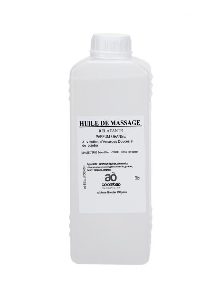 Huile massage relaxante Orange 1L