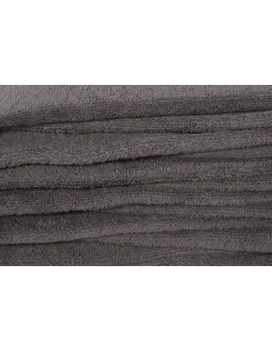 Serviette 70x140 gris anthracite