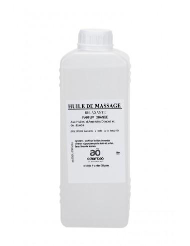 Huile massage relaxante Orange 1L