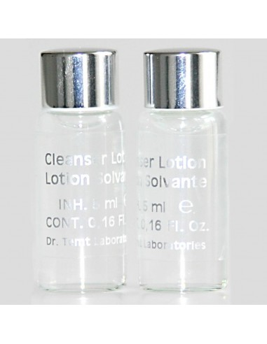Lotion solvante cils