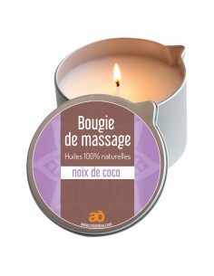 Bougie de massage coco