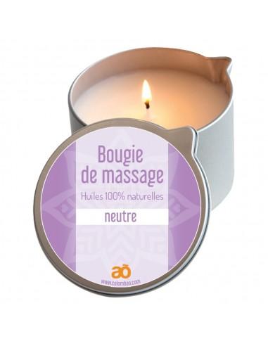 Bougie de massage neutre