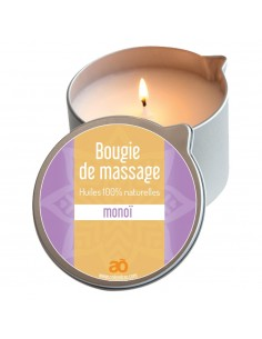 Bougie de massage monoi