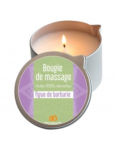 Bougie de massage figue de barbarie