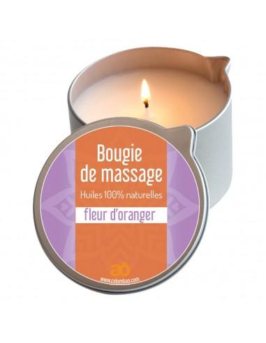 Bougie de massage fleur d'oranger