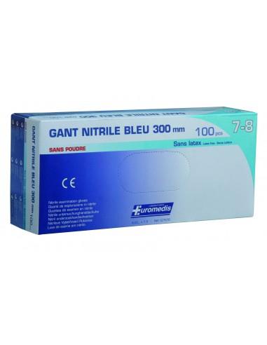 GANT d'examen nitrile sans poudre M