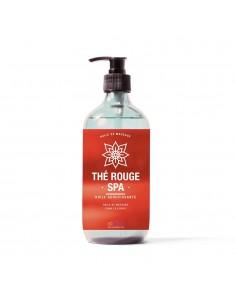 Huile de massage au parfum thé rouge
