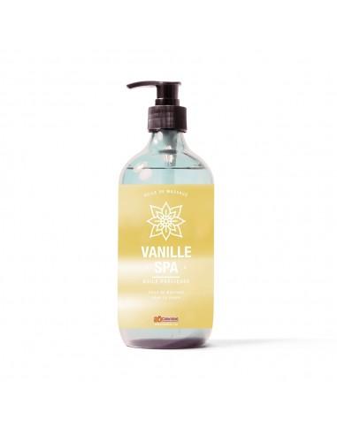Huile de massage au parfum vanille