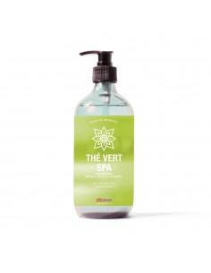 Huile de massage au parfum thé vert