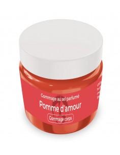 Gommage au sel parfumé Pomme d'amour - 200 gr - Produit SPA/Massage/Beauté