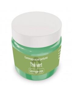 Gommage au sel parfumé Thé vert - 200 gr - Produit SPA/Massage/Beauté