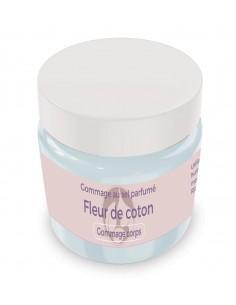 Gommage au sel parfumé Fleur de coton - 200 gr - Produit SPA/Massage/Beauté