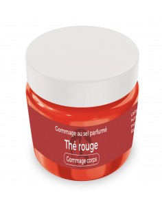 Gommage au sel parfumé Thé rouge - 1 kg - Produit SPA/Massage/Beauté