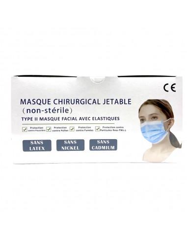 Masque 3 plis