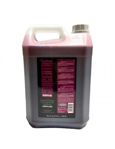 Gel douche/shampoing - Formule concentrée - Format 5 litres - Parfum grenade